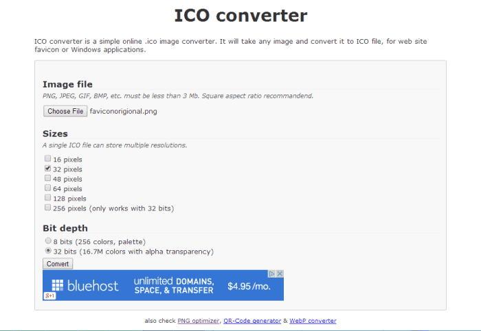 Add a favicon to your blog