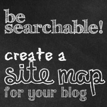 Make it easier for search engines to find your blog: create a sitemap.