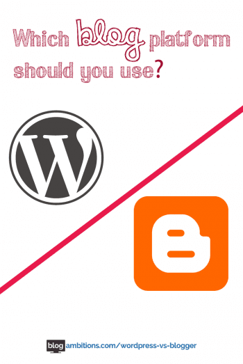 why wordpress is better than blogger