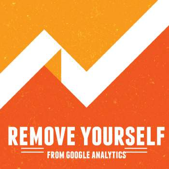Remove yourself from your Google Analytics Reports