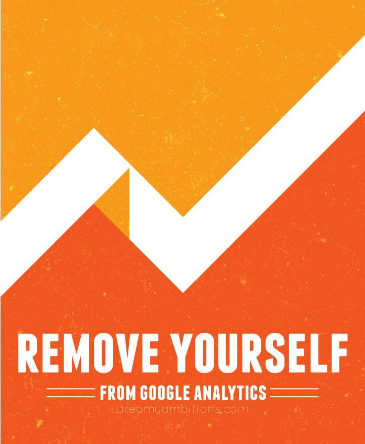 How to remove yourself from google analytic results