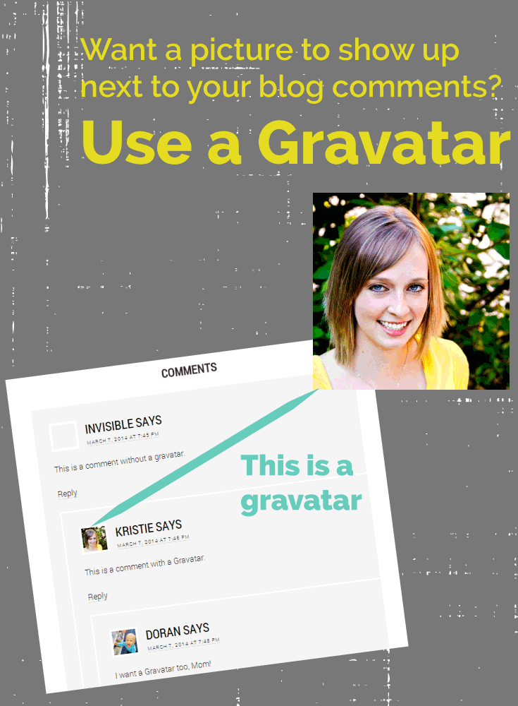How to use a gravatar