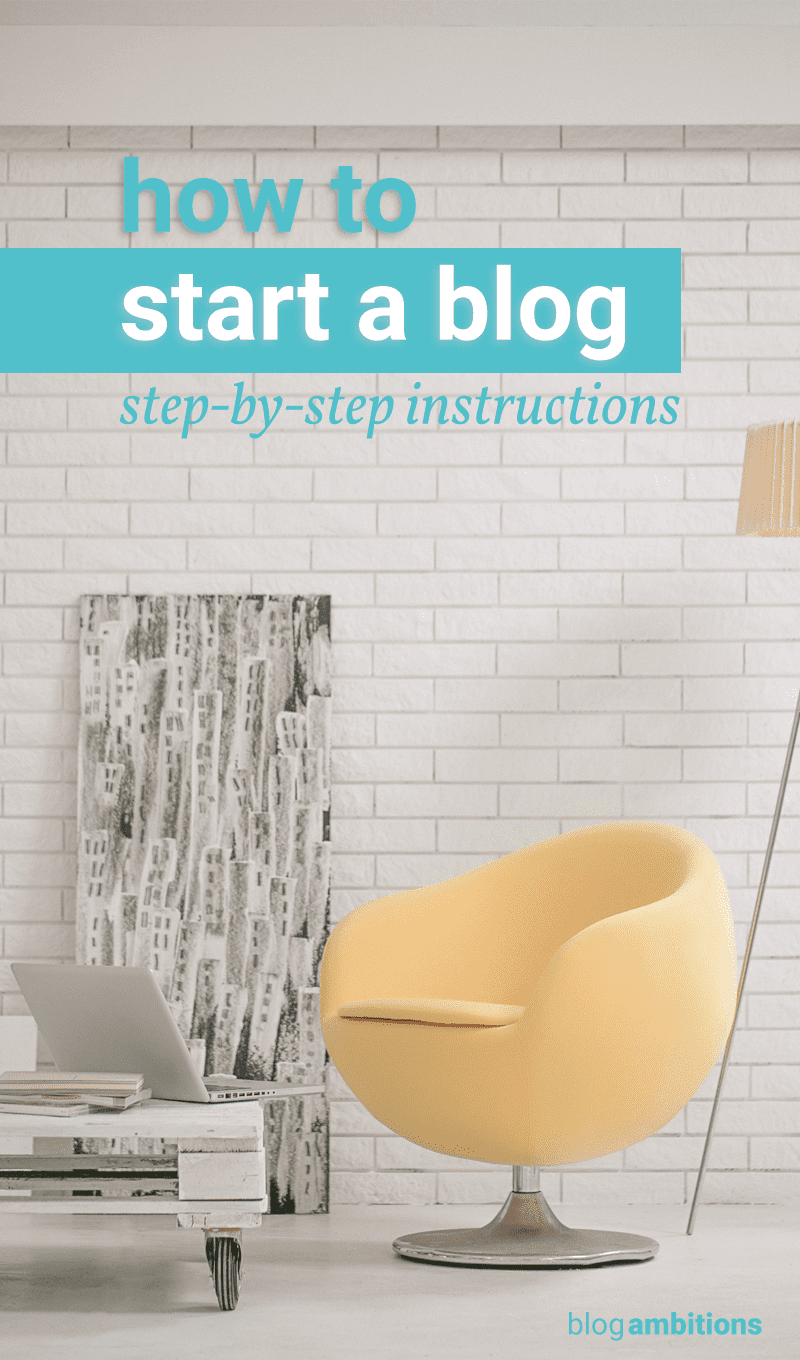 Learn how to start a blog, the right way. Use this series to set up your new WordPress blog. You'll look like a pro blogger from the beginning.