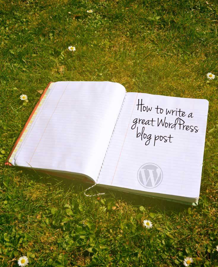 Write a blog on facebook