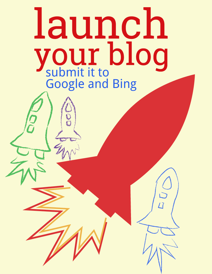How to submit your blog to Google and other search engines.