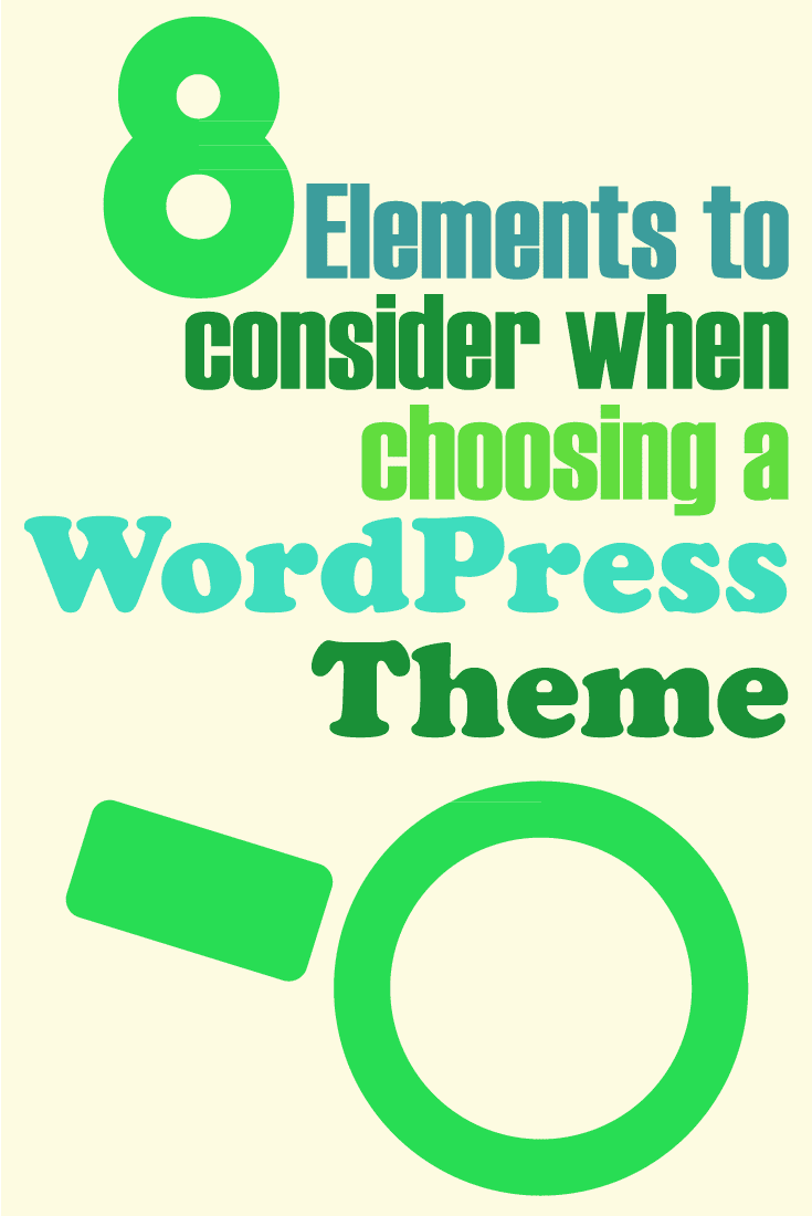 How to choose a wordpress theme #bloggingtips