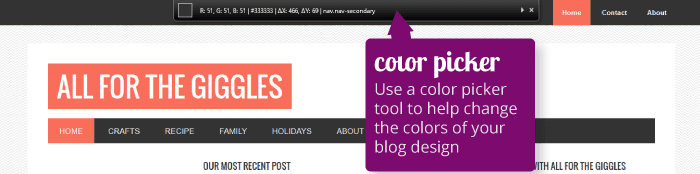 how to change the colors in a wordpress theme