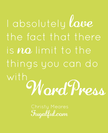 Why Frugalful switched from WordPress to Blogger
