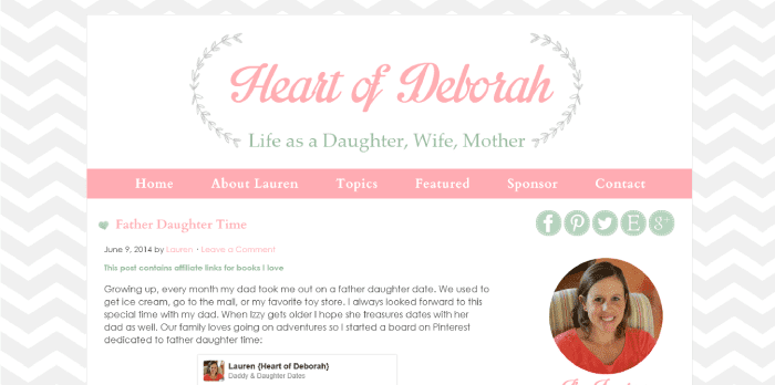 Heart of Deborah Blog