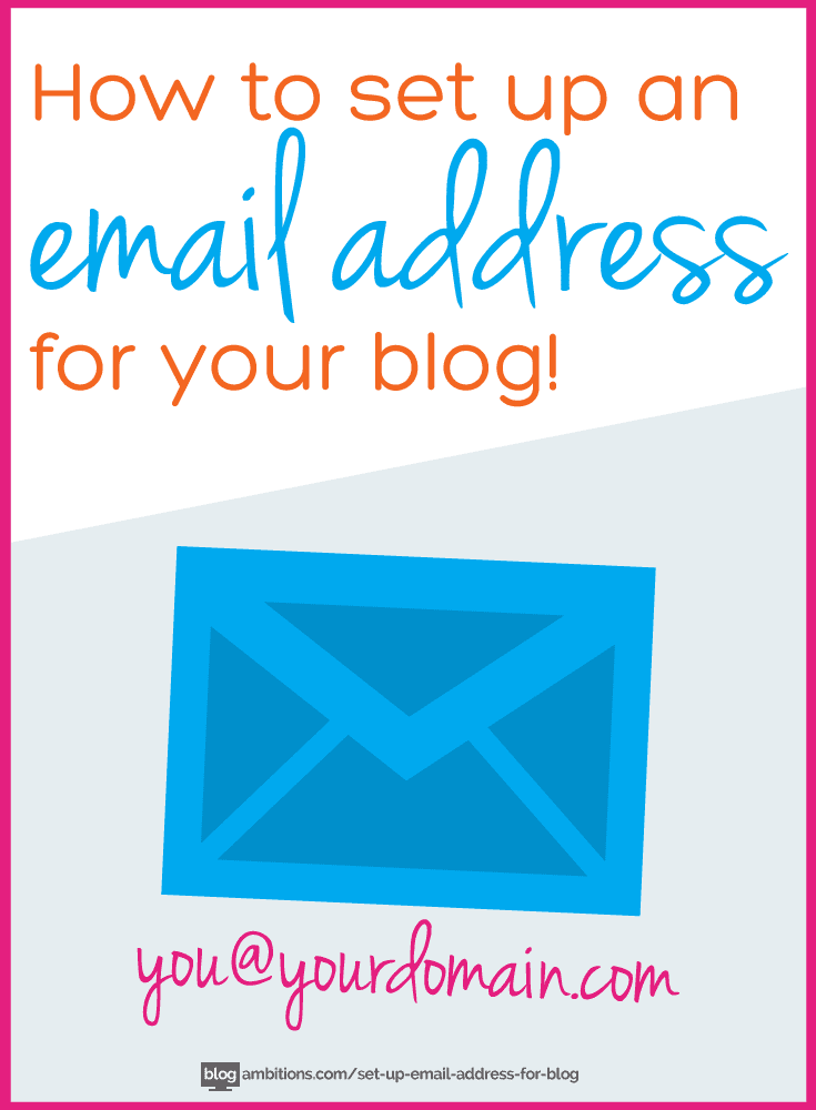 how to set up email address with domain name