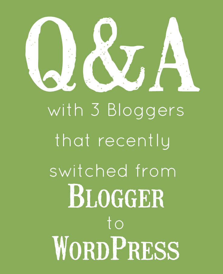 why 3 bloggers switched from blogger to wordpress