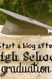 Start a blog after graduation