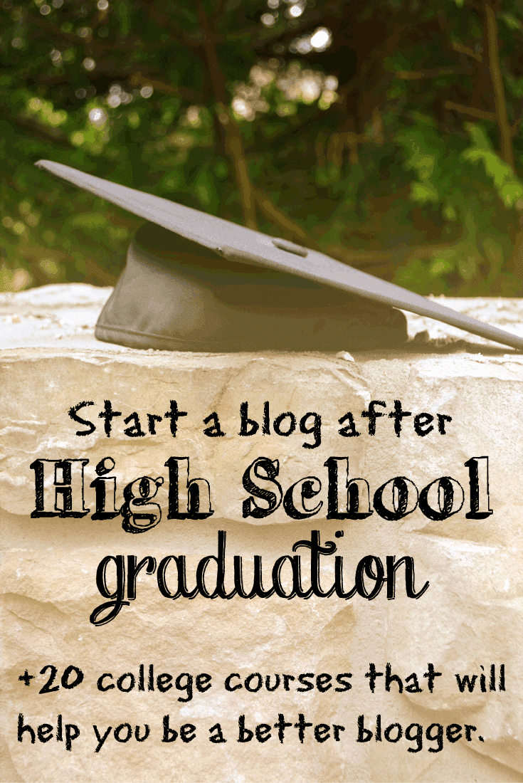 start a blog after high school graduation blog ambitions start a blog after graduation