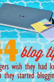 Blog tips bloggers wish they'd known when they started blogging