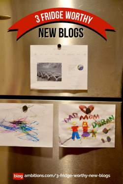 3 Fridge worthy new blogs!