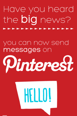 Have you heard the big Pinterest news?