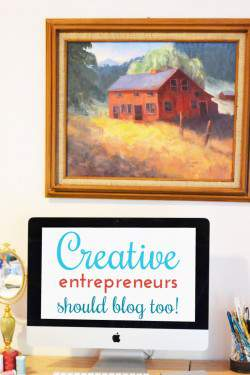 4 Blog tips for Creative Entrepreneurs + A Confrence Giveaway!