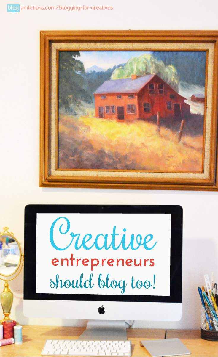 4 blog tips for creatives