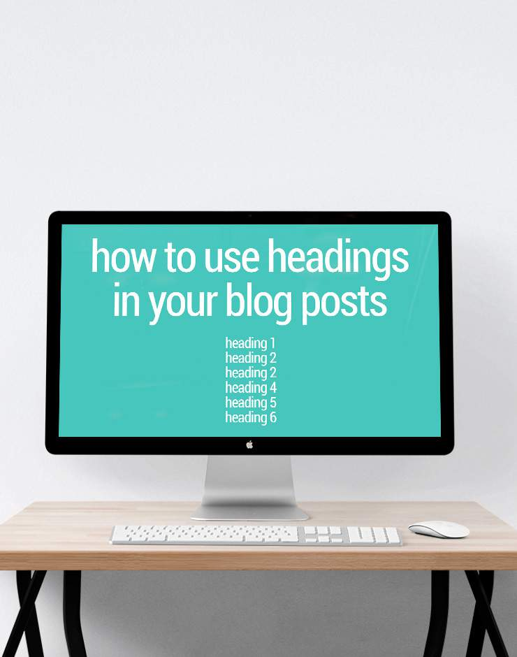 How to use heading tags in your blog posts