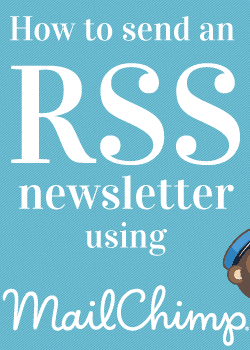 How to set up RSS delivery with MailChimp