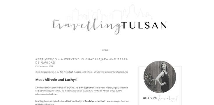 Travelling Tulsan Blog