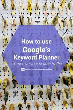 How to use Google Keyword tool to write your blog posts