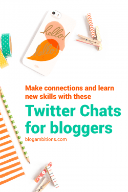 Awesome Twitter chats for bloggers and online creative entrepreneurs.