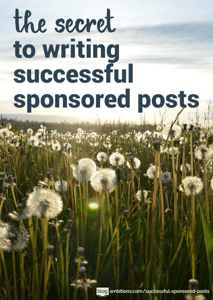 Read this post before writing your next sponsored post!