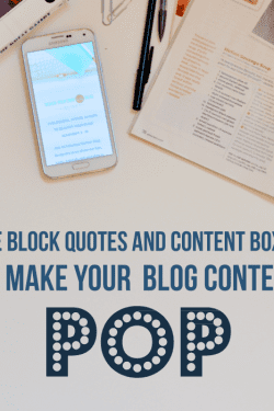 How to make your blog content pop!