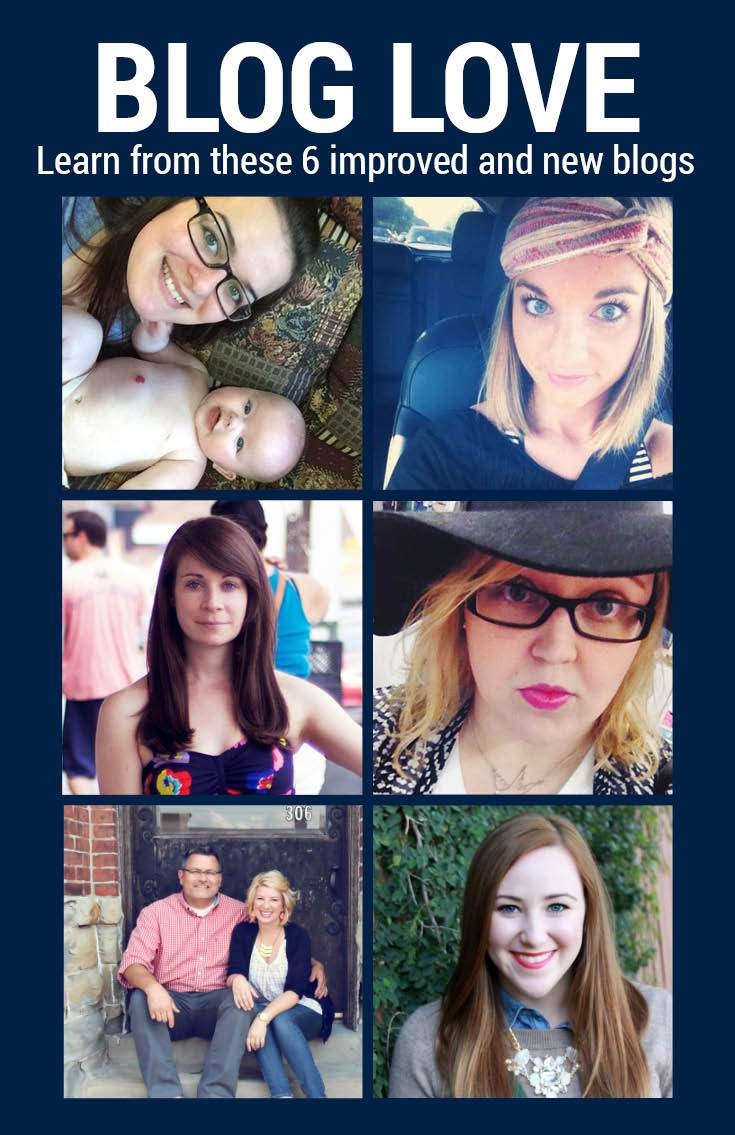 Learn from these 6 improved or new bloggers!