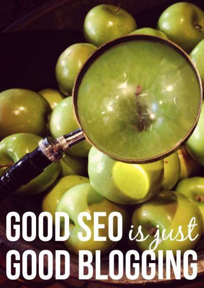 SEO is actually easy, just improve your blogging and you'll improve your SEO