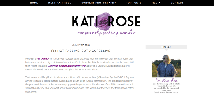 Kati Rose Blog