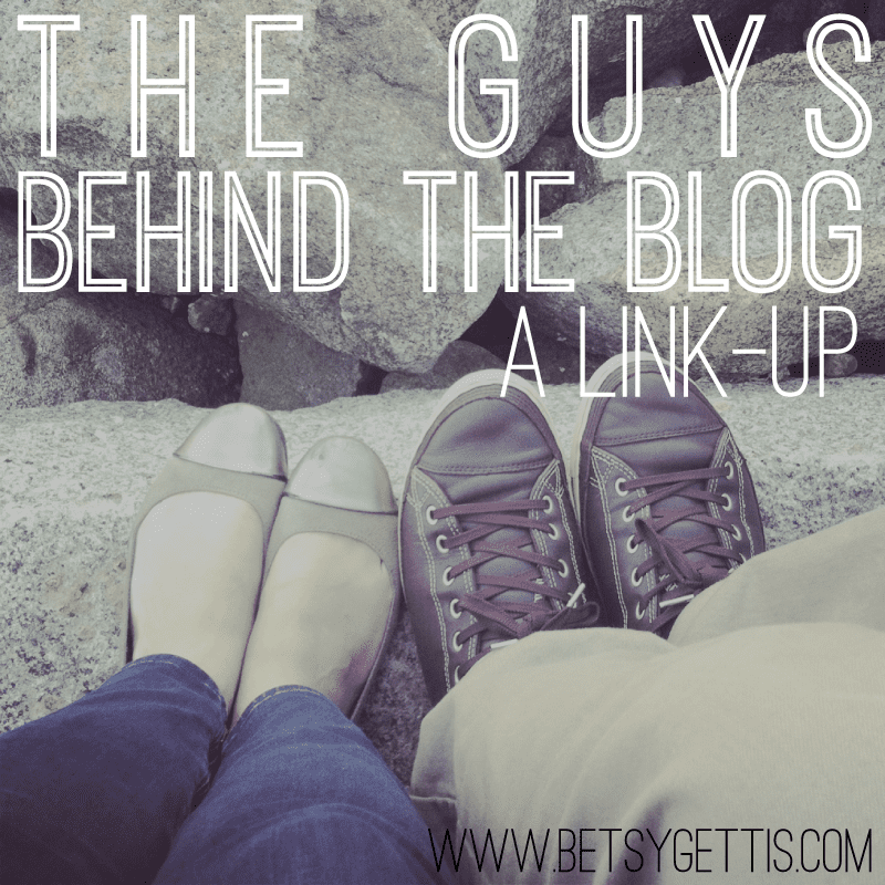 the guy behind the blog