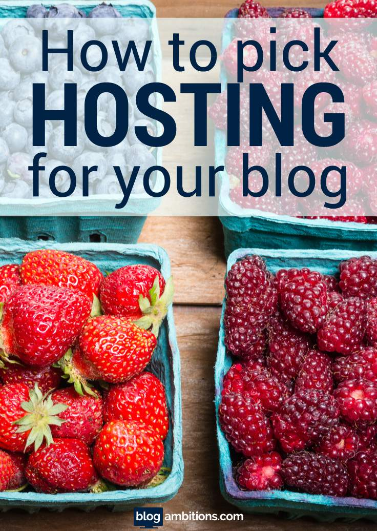 How to pick the best hosting for your WordPress blog.