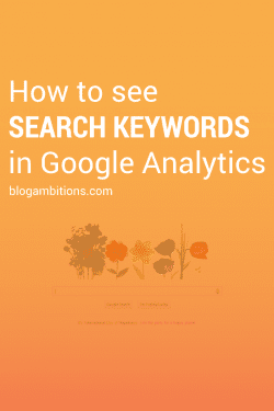 What do people search to find your blog?