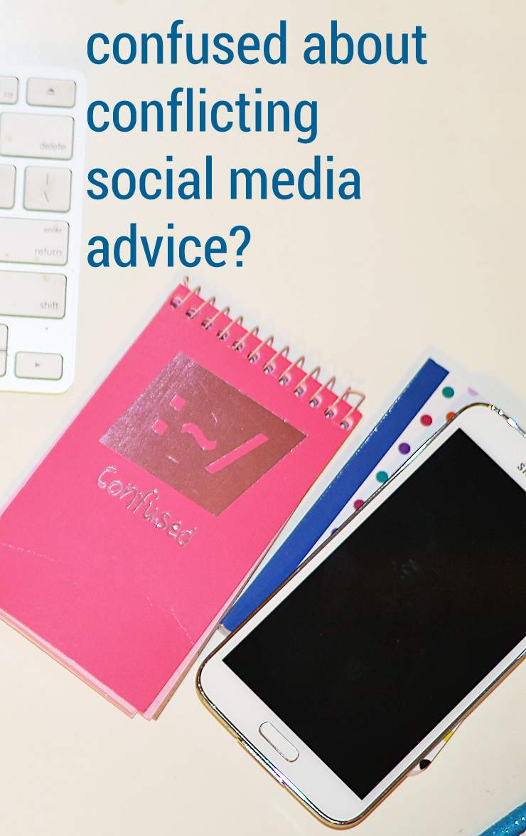 my best social media advice: make sure the articles is current!