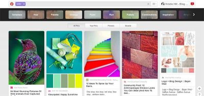 Check out Pinterest for color inspiration
