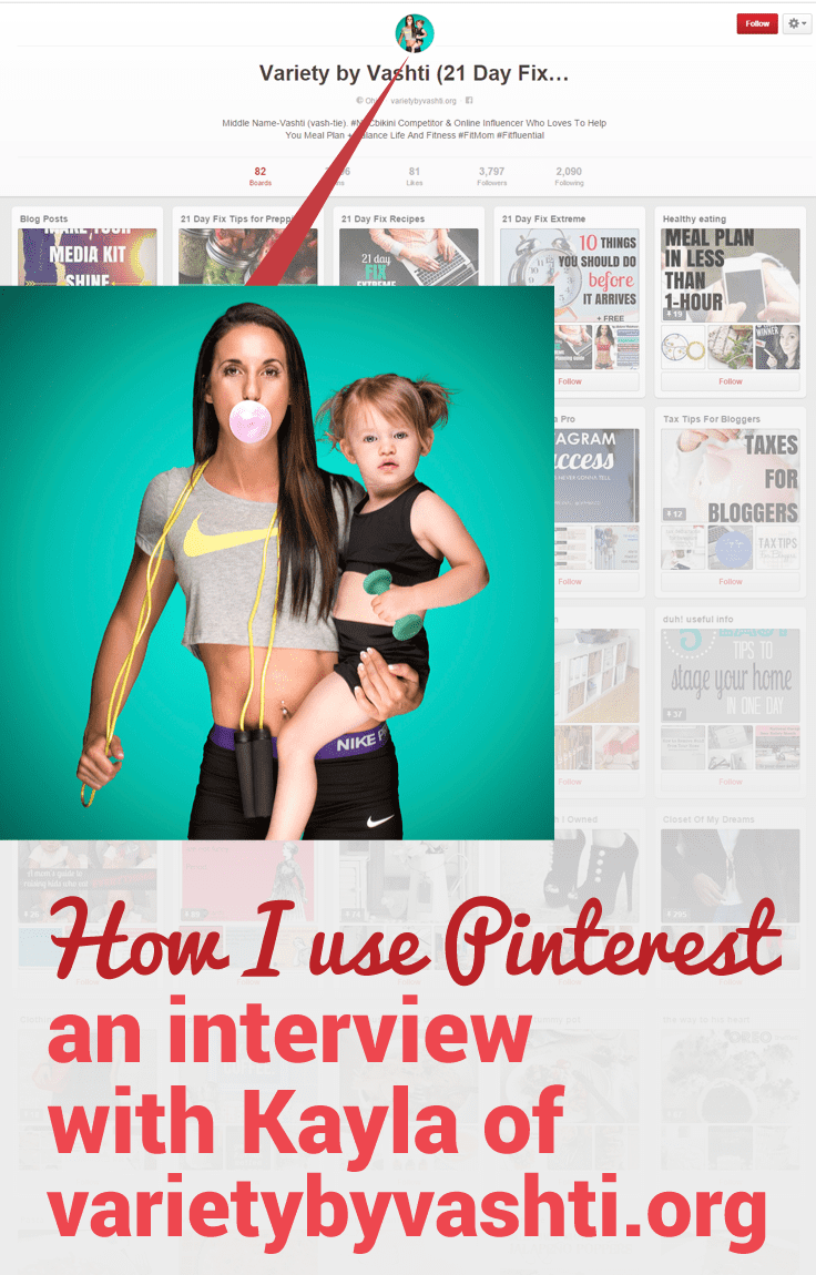 Blogger Kayla of Variety by Vashti shares her Pinterest success story and how she uses Pinterest for her blog.