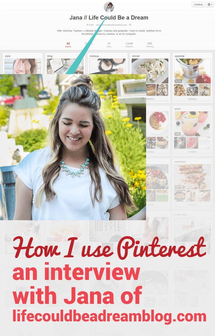Jana of Life Could be a Dream shares her Pinterest success story.