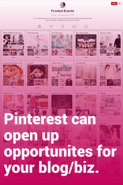 Misty from Frosted Events shares her Pinterest success story!
