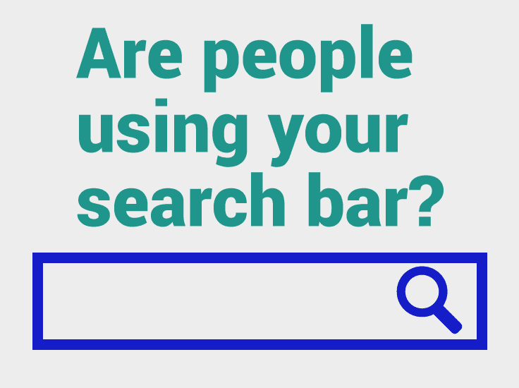 Do you have a search bar on your site? Are people actually using it? Find out! ++How you can use this information to be a total game changer for your blog.