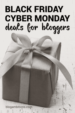 2015 Black Friday and Cyber Monday Deals for Bloggers