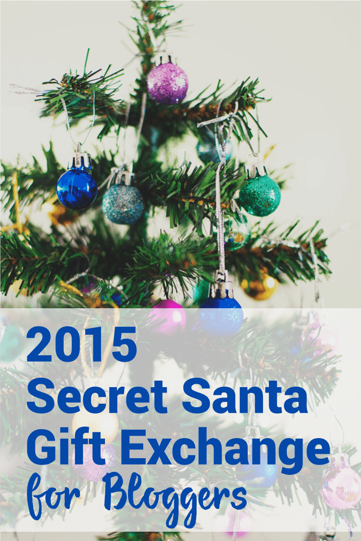 The #BlogSantaExchange is a secret Santa gift exchange for bloggers! Sign up before November 22nd, to be included in the 2015 exchange. Give and get a gift only a blogger will love!