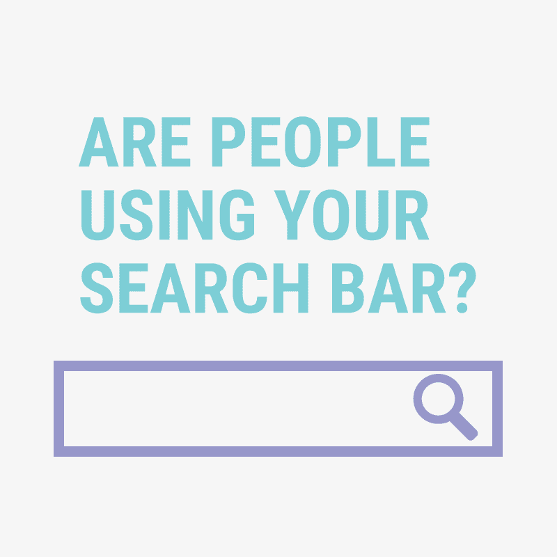 How to find out what people are searching for inside your blog