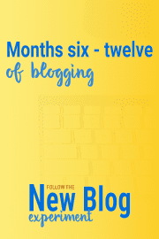 Insights into a real bloggers first year of blogging