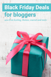 Don't miss these black friday deals for bloggers. Save money on all your blogging needs.