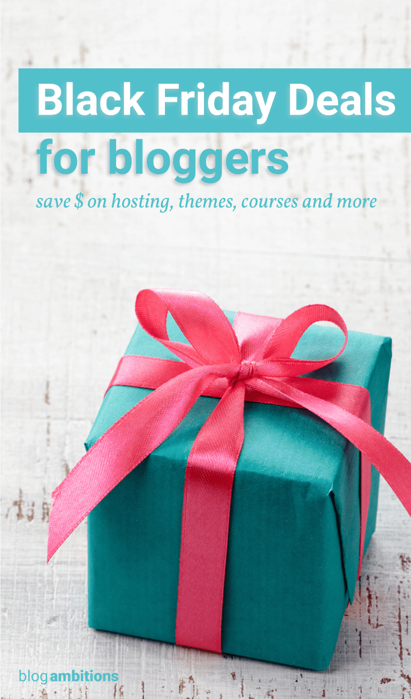 Cyber Monday Deals for Bloggers 2016