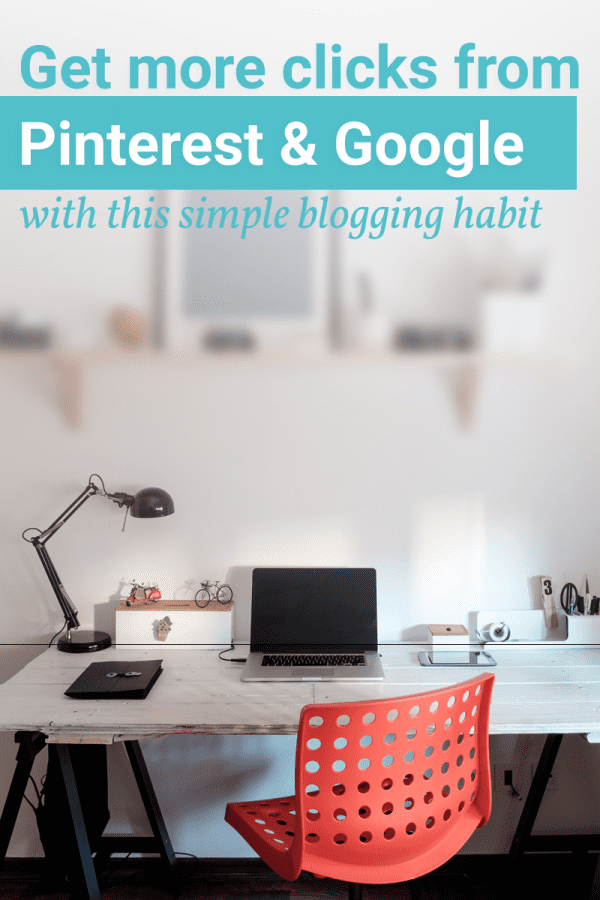 Get more clicks to your blog with this simple step.