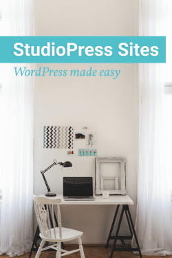 Introducing StudioPress Sites, a WordPress hosting option built for bloggers.