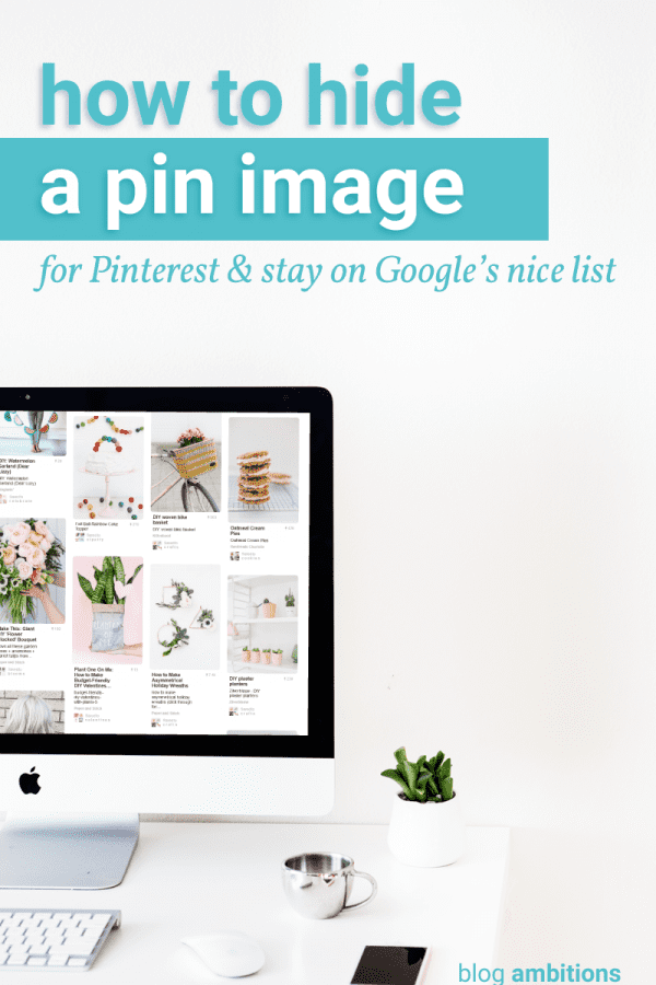 How to hide pins and still be on Google's nice list